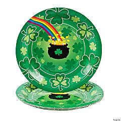 St. Pat's Rainbow Dinner Plates