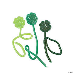 Sticky Shamrocks On A String
