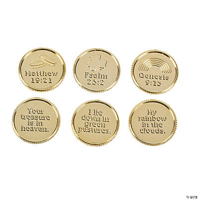 St. Patrick's Day Verse Coins