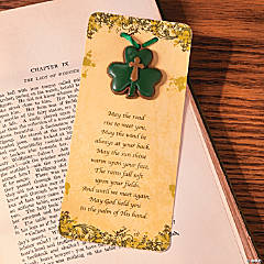 Faith Shamrock Ornaments on Card
