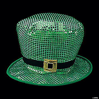 Jumbo Shiny Leprechaun Hat
