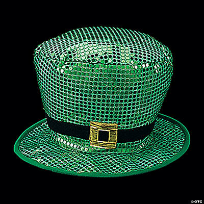 Jumbo Sequin St. Patrick's Day Leprechaun Hat