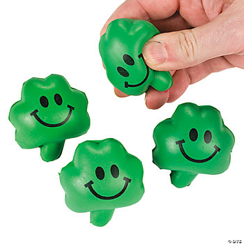 Mini Relaxable Squeeze Shamrocks