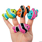 Clown Fish Finger Puppets