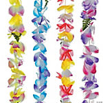 Polyester Tropical Sunrise Leis