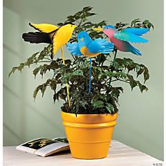 Bird Plant Stakes