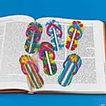 Flip Flop Ruler Bookmarks