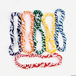Two-Tone White Leis