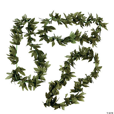 Tropical Fern Leaf Leis