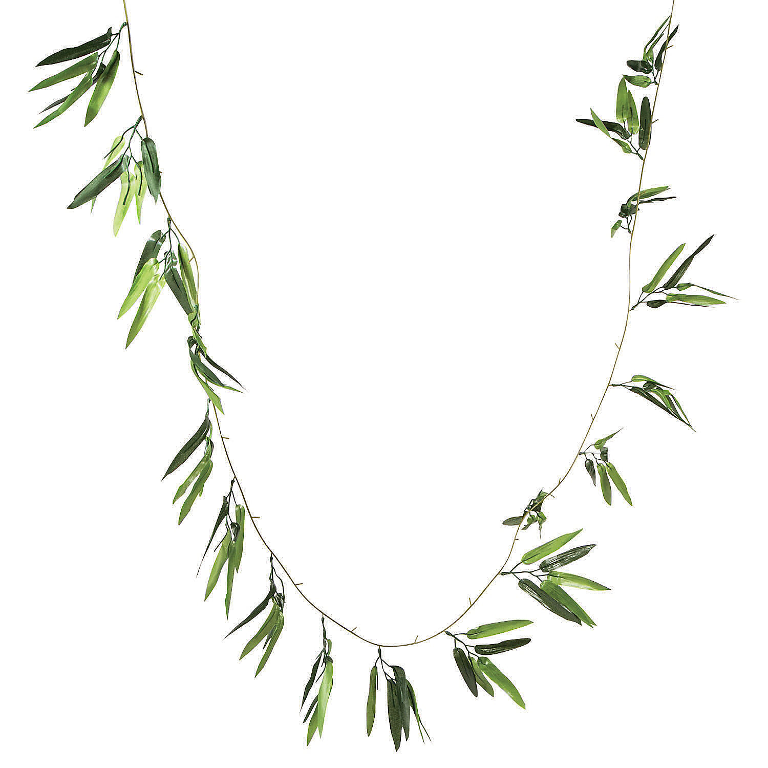 Bamboo garland for Artificial seaweed decoration