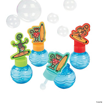Beach Monkey Bubble Bottles
