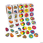 Tropical Rolls of Sticker Assortment