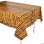 Plastic Bamboo Tablecloth