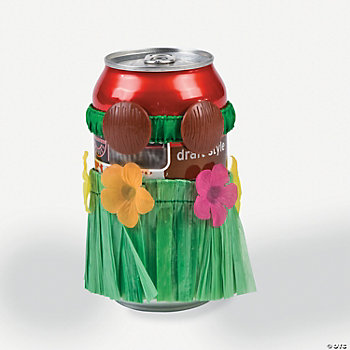 Hula Skirt Can Decoration Set