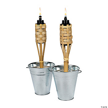 Mini Bamboo Torches