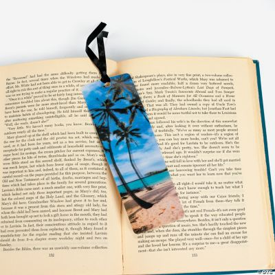 Tropical Photo 3-D Lenticular Bookmarks