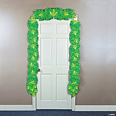 Palm Leaf Door Border