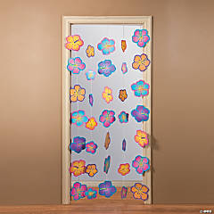 Hanging Floral Door Curtain
