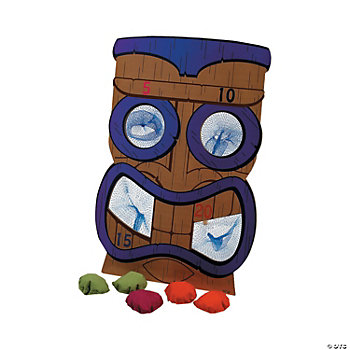 Tiki Bean Bag Toss Game