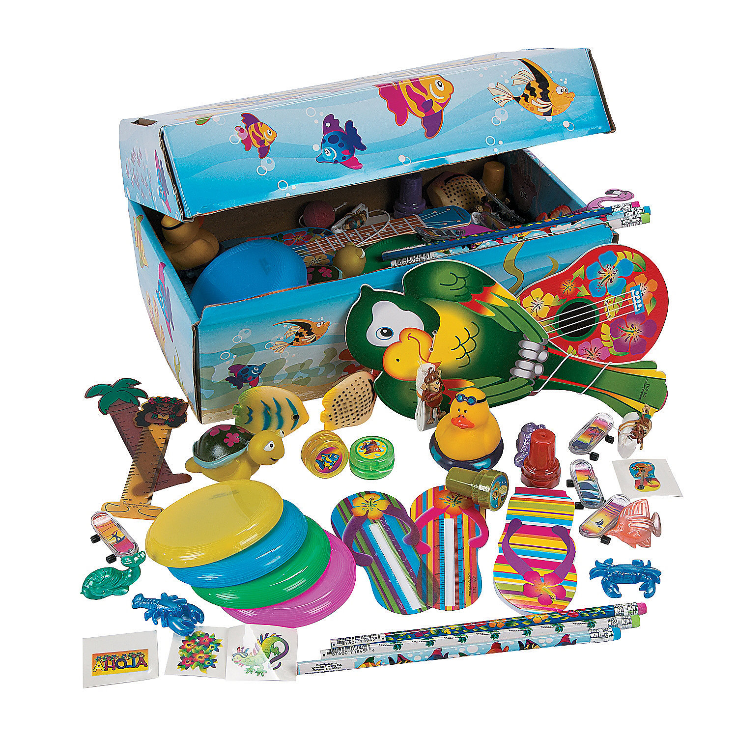 Toy Treasure Chest Beach : Tropical treasure chest assortment oriental trading