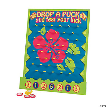 Luau Disk Drop Game