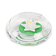 Lotus Blossom LED Floating Candles