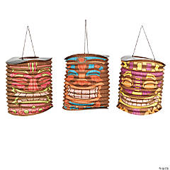 Tiki Party Hanging Lanterns