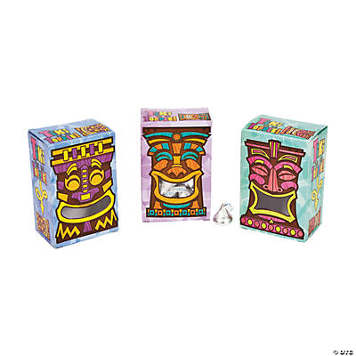 Tiki Treat Boxes with Windows