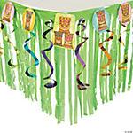 Tiki Tableskirt with Cutouts