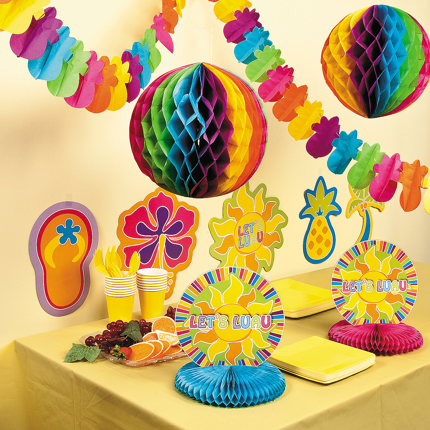 Luau decorating kit decorating kits party decorations for Decoration kit