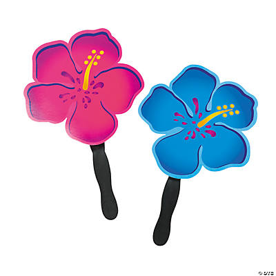 Hibiscus-Shaped Fans
