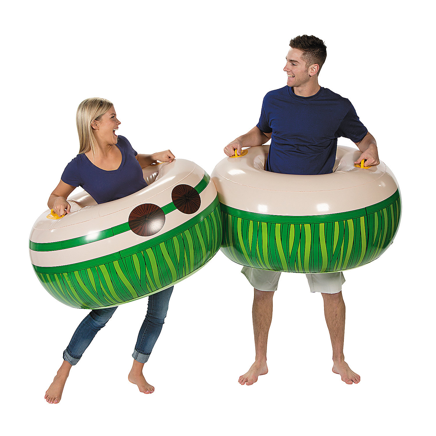 Socker Boppers Sumo: Inflatable Luau Body Boppers