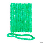 School Spirit Green Leis