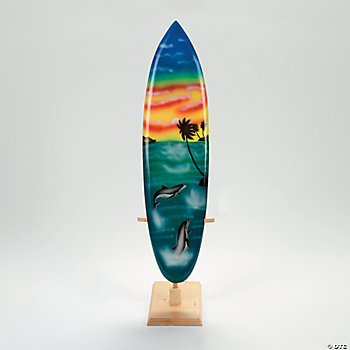 Large Surfboard Decoration