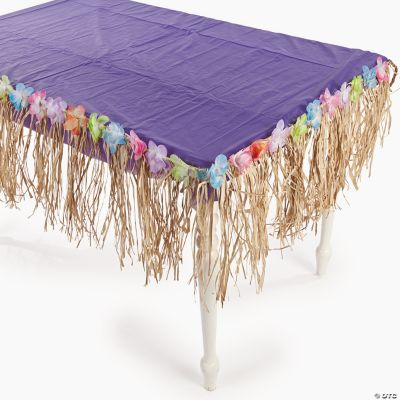 Tropical Floral Fringe Decoration