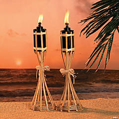 Polynesian Tabletop Torches