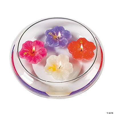 Hibiscus Floating Candles