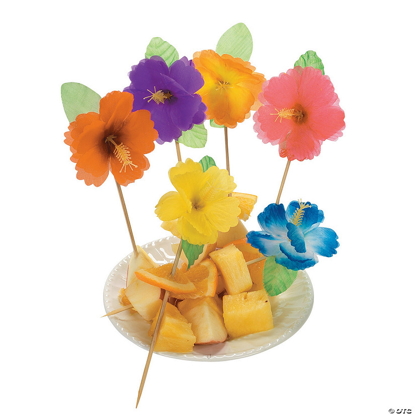 Hibiscus Picks  sc 1 st  Oriental Trading & Picks