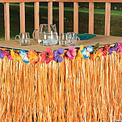 Hibiscus Table Skirts