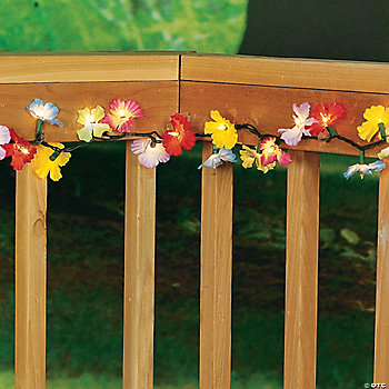 Light-Up Flower Lei Garland