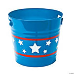 Patriotic Bucket With Handles
