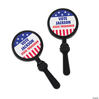 Personalized Patriotic Noise Clappers