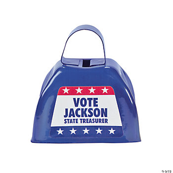 Personalized Patriotic Cowbells
