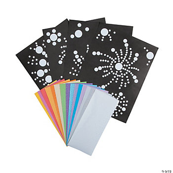 Firework Prism Sticker Dot Activities