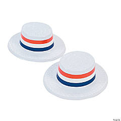 Mini Patriotic Skimmer Hats