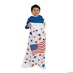 Patriotic Potato Sacks