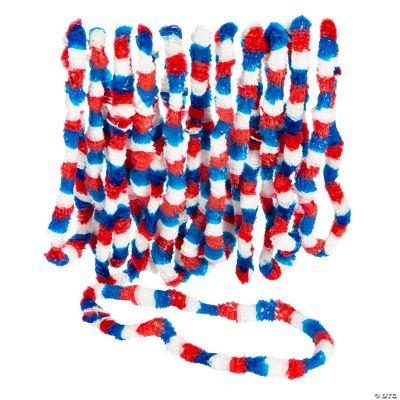 Patriotic Tri-Color Leis