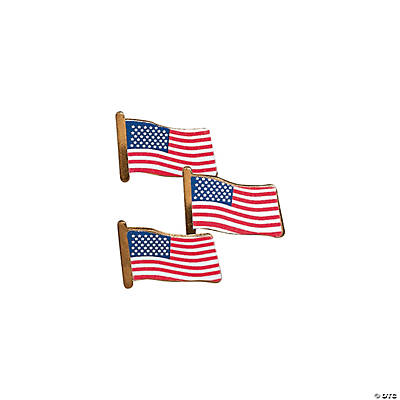 USA Flag Pins