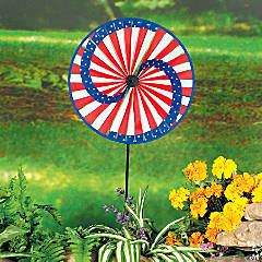 Patriotic Lawn Spinner