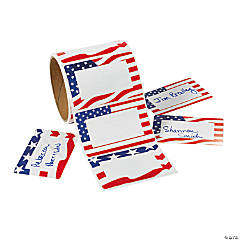 Patriotic Name Tags